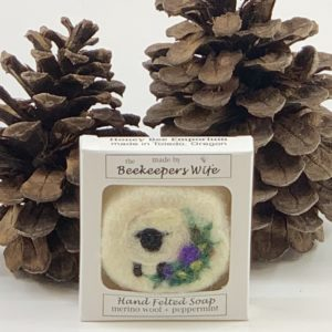 Felted Wool Soaps