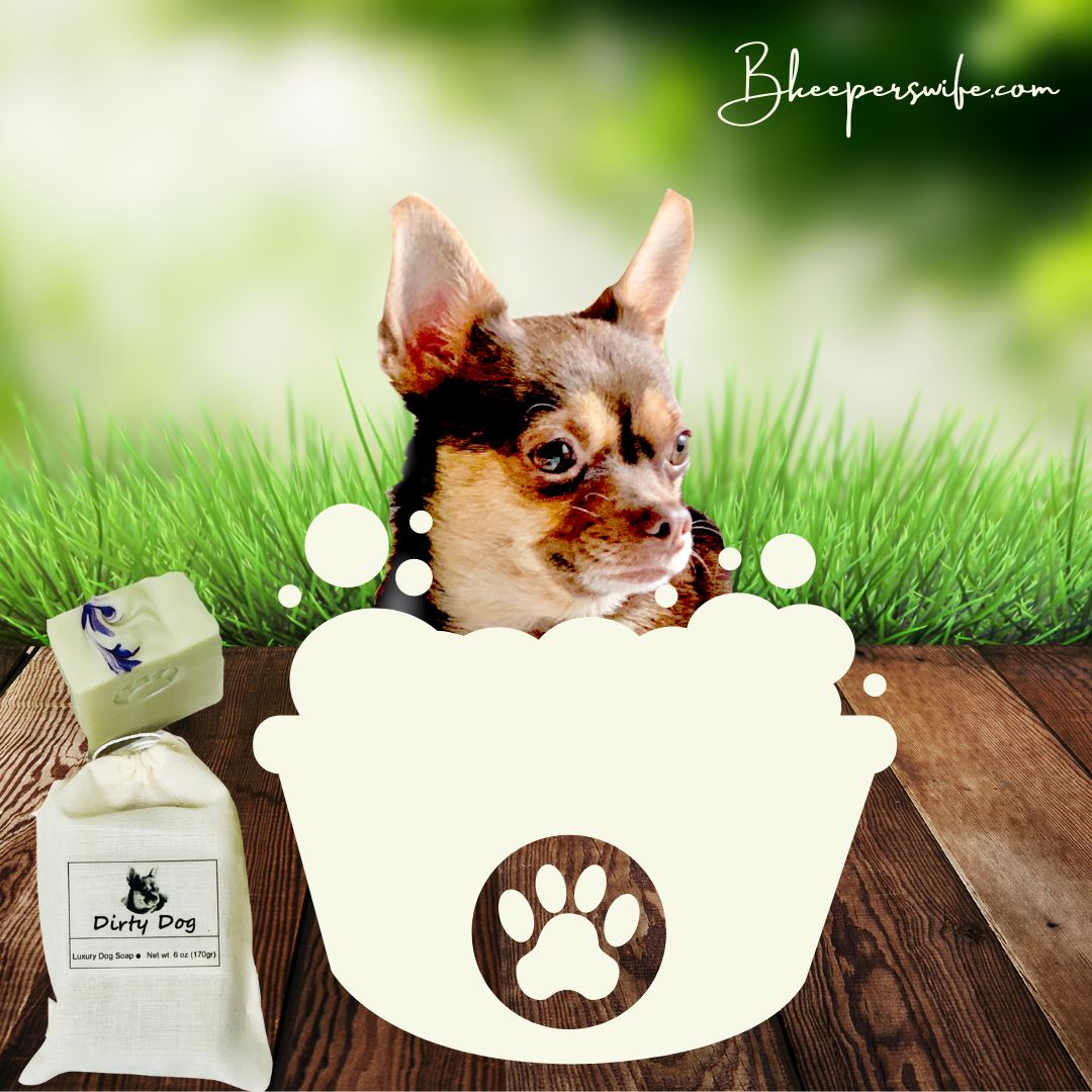 Ginger's Dirty Dog Soap
